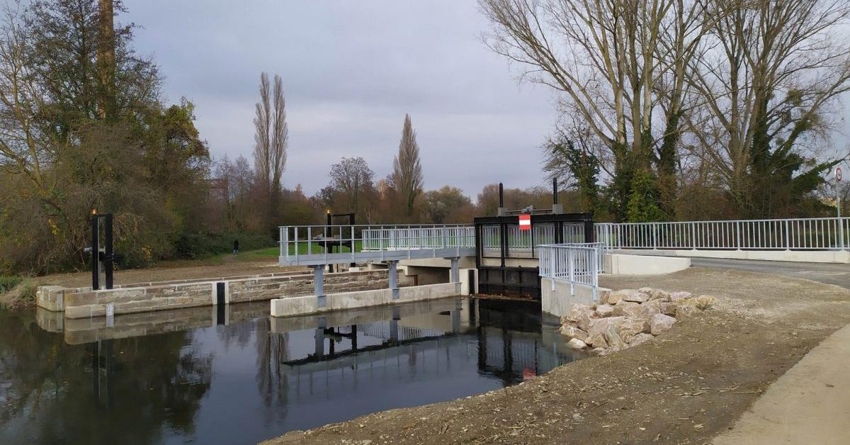 Barrage erstein fleuve